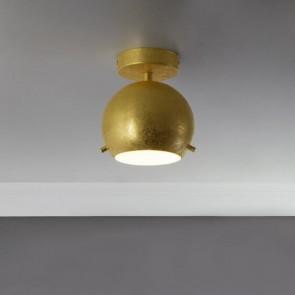 Gold-Deckenleuchte Sotto Luce MYOO CP 1/C