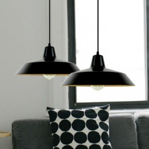 Sotto Luce UME Elementary 1/S black pendant lamp