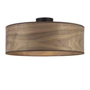 Naturholzfurnier-Deckenlampe Sotto Luce TSURI CP