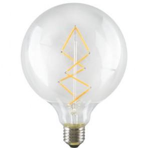 Globe ZIG ZAG L Dekorativ LED Vintage Glühbirne - E27 6,5W A+ Retro Industry Style