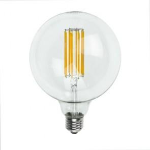 Filament Dimmable Big Bubble LED Decorative Light Bulb E27 6,5W on