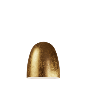 Black matte / copper leaves lamp shade for Sotto Luce Momo light - spare part