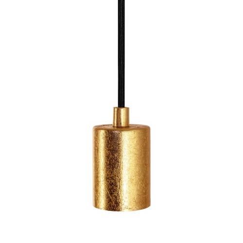 Bulb Attack Cero Basic E27 lampholder - gold leaves