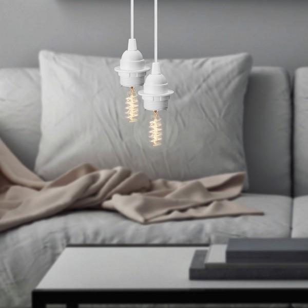 Minimalistisch Doppelt-Leuchte Bulb Attack UNO Plus S2