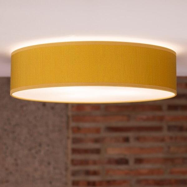 Designer Deckenleuchte Bulb Attack Doce 1/C senffarben