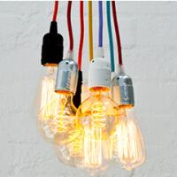Stoffkabel für Hängelampen - Bulb Attack Kollektion
