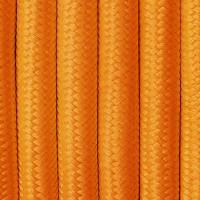 Textilkabel orange für Leuchten