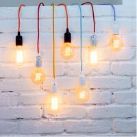 Dekorativ Textilkabel für Lampen - viele Farbe