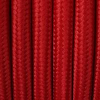 Textilkabel rot für Pendellampen