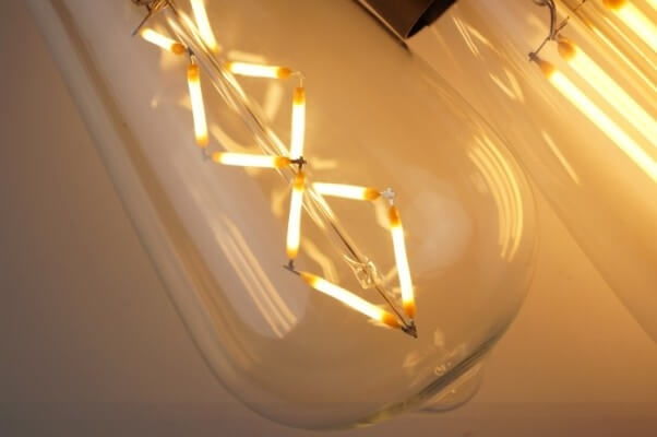 Zig Zag Dimmbar Filament Dekorativ Loft Retro Glühbirne - E27 Fassung