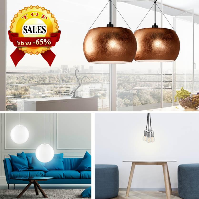 Pendellampen Sotto Luce und Hängeleuchten Bulb Attack Ausverkauf - Sonderpreise
